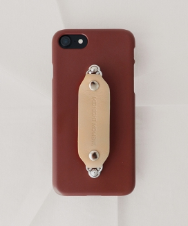 [MIDNIGHT MOMENT] leather grip case brown
