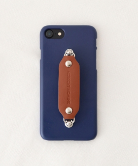 [MIDNIGHT MOMENT] leather grip case navy