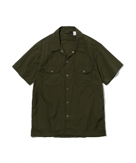 [Uniform Bridge] 19ss open collar short shirts
