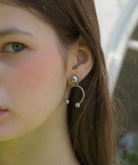 [CLUTSTUDIO] piercing drop earring