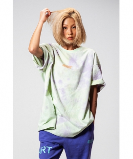 [OBJECT] TIE DYE OVERSIZED T-SHIRT
