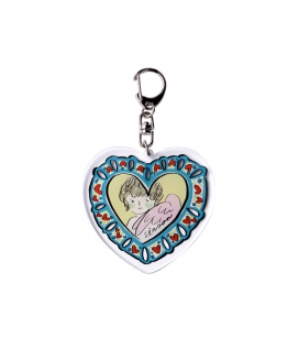 [SINOON] Heart angel keyring