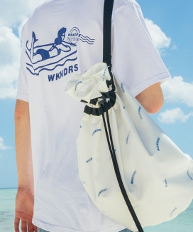 [WKNDRS] WAVY SWIMMER BAG