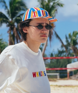 [WKNDRS] RETRO CAMP CAP