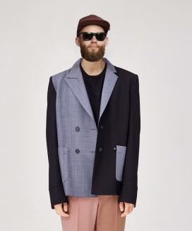 [LUVur] Back buttoned Blazer