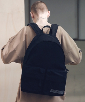 [MASSNOUN] SL LOGO TWO POCKET BACKPACK MSNAB001