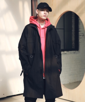[MASSNOUN] SL LOGO M-51 FISHTAIL LONG COAT MSNCT002