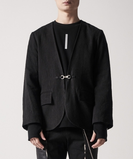 [MANODDIOS] M.N.D Cross Stick Non-Callor Jacket
