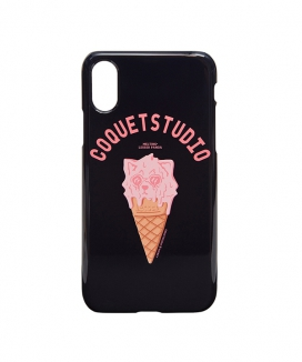 [COQUET STUDIO] [ C.Q X QUENZY ] ICE CREAM LESSER I-PHONE CASE