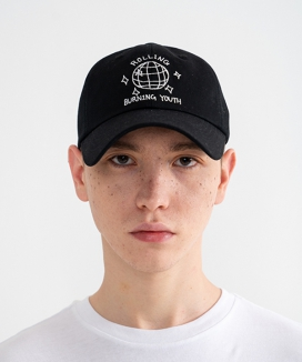 [Rolling Studios] MIRROR BALL Embroidered Ball Cap