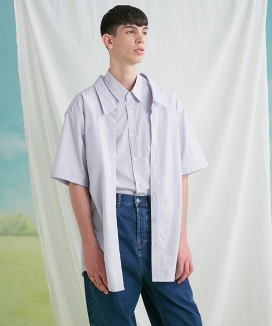 [TRUNK PROJECT] Double Layered Half-Shirts
