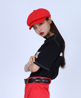 [BASIC COTTON] basic cap beret