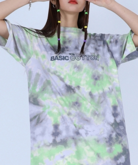 [BASIC COTTON] bc water half top