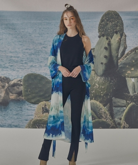 [BBYB] [BBYB x VLEEDA] Blue Wave Robe