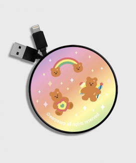 [EARPEARP] Rainbow bear (Smart reel)