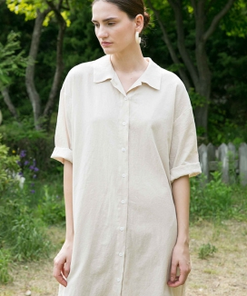 [NONLOCAL] Over Shirts dress
