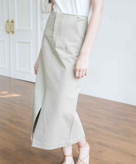 [NONLOCAL] X Strap Skirts