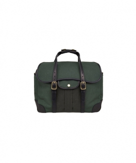 [BRASSBOATS] Briefcase 'British Hunter Green - Martexin Pocket'