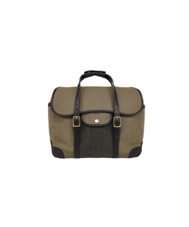 [BRASSBOATS] Briefcase 'Swedish Army Khaki - Martexin Pocket'