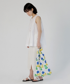 [textile area] STRING PICNIC BAG_GO! PATTERN