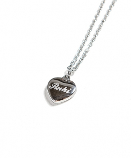 [RUNNING HIGH] [FREE GIFT] SURGICAL STEEL HEART NECKLACE