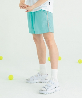 [motivestreet] COLOR LINE BAGGIES SHORTS