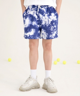 [motivestreet] TIE DYE TRAINING SHORT PANTS