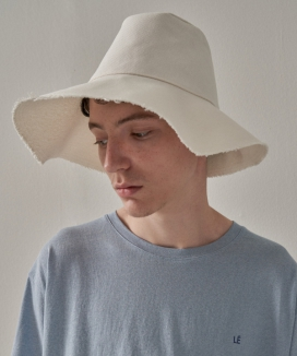 [TRIP LE SENS] ROUGH COTTON BUCKET HAT