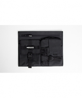 [PREPARAT] [front pocket panels] BLACK SPORTS (L)