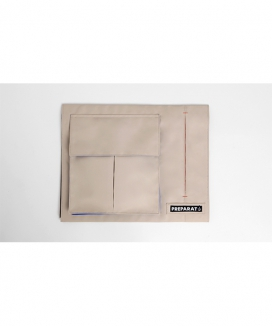 [PREPARAT] [front pocket panels] WIND BEIGE (L)