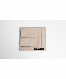 [PREPARAT] [front pocket panels] WIND BEIGE