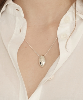 [090FACTORY] Pebble Necklace
