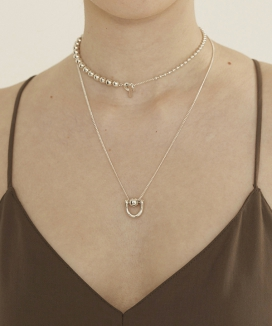 [090FACTORY] Bell shape Necklace