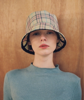[AWESOME NEEDS] BASIC BUCKET HAT_CHECK (3COLOR)