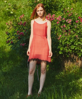 [Sorry, Too Much Love] Dot Lace String Dress