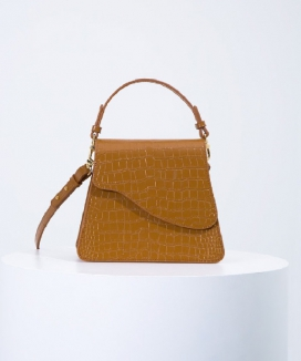 [oneninenineone] WAVE LEATHER BAG