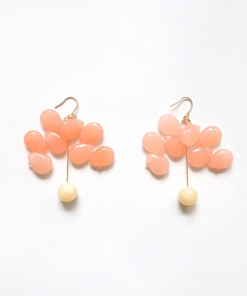 [Vi/Ve] Apricot Seed Earring