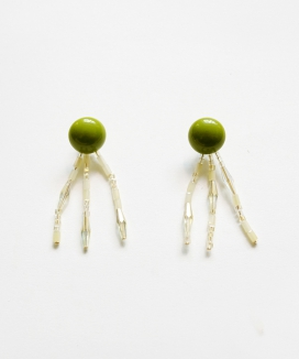 [Vi/Ve] Greeny Sunshine Earring