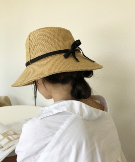 [JADE GOLD NINE] Jute hat