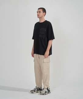 [ENOUGHIISENOUGH] Line pocket slacks