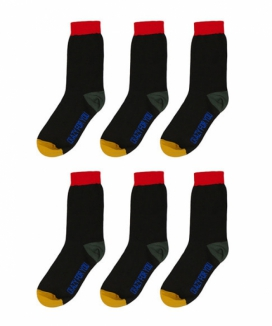 [BASIC COTTON] crazy socks - 6pack