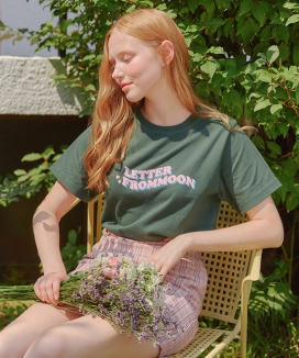 [LETTER FROM MOON] SUMMER LOGO T-SHIRTS