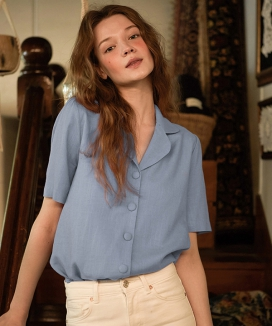 [LETTER FROM MOON] LINEN SHIRTS