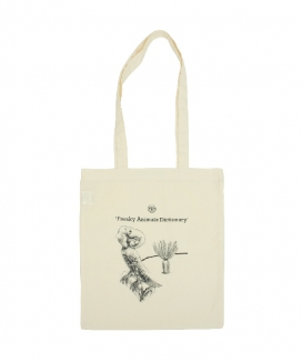 [oneninenineone] ELEPHANT BIRD ECO BAG