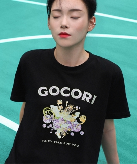 [GOCORI] FROZEN BUBBLE T-SHIRT