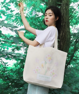 [GOCORI] PEACEFUL BREEZE ECO BAG