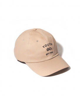 [BUTDEEP] YOUTH CURVED CAP