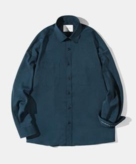 [Diamond Layla] クールポリ オーバーフィットシャツ S37