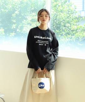 [UnLikeLook] MAISON LOGO LONG SLEEVE