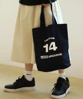 [UnLikeLook] LIKE LOGO ECO BAG - M